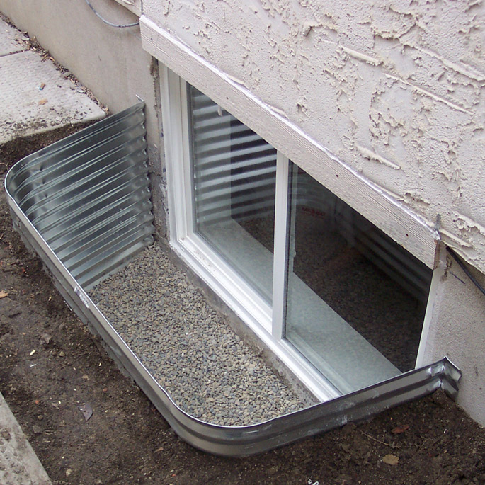Egress basement window installation marcotte glass calgary for Basement window replacement