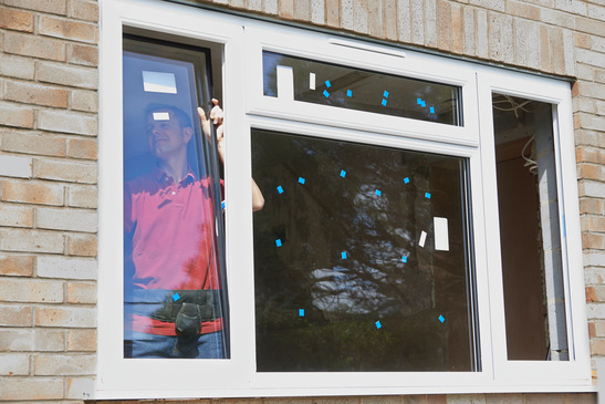 Professional Installing New Windows In House
